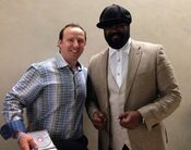 Brian Jaccoma  and  Grammy winner Gregory Porter